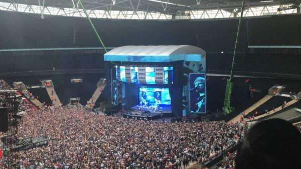 Wembley Stadium, sección: 504, fila: 3, asiento: 117