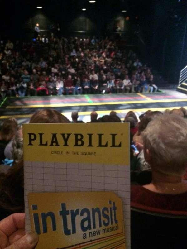 Circle in the Square Theatre, sección: Orchestra 200 (Even), fila: F, asiento: 222