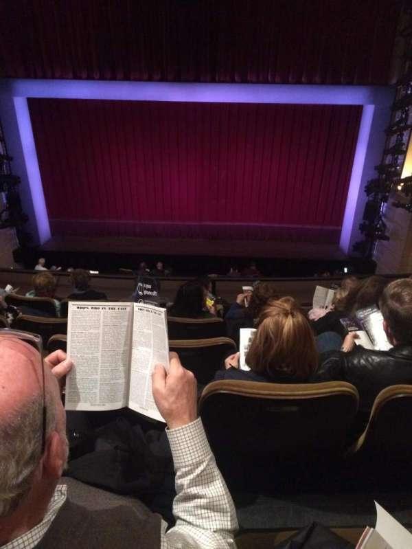 Samuel J. Friedman Theatre, sección: Mezzanine C, fila: D, asiento: 113