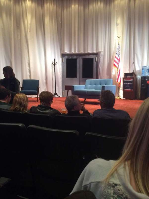 New World Stages - Stage 5, sección: Orchestra, fila: D, asiento: 13