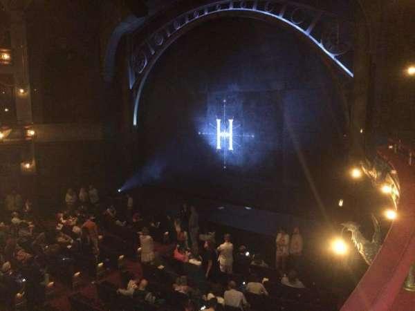Lyric Theatre, sección: Dress Circle Right, fila: A, asiento: 22