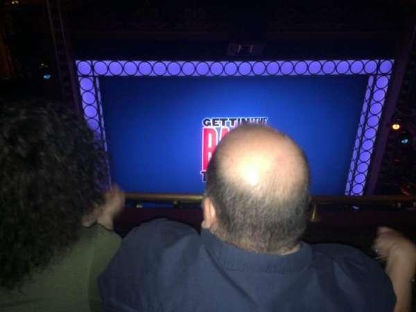 Belasco Theatre, sección: Balcony, fila: F, asiento: 103