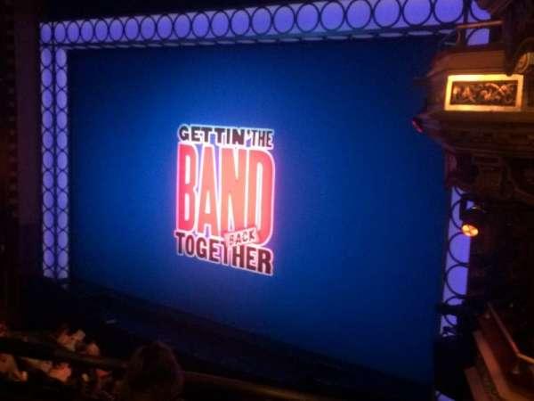 Belasco Theatre, sección: Mezz, fila: C, asiento: 18
