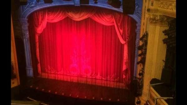 Hudson Theatre, sección: Balcony, fila: B, asiento: 2