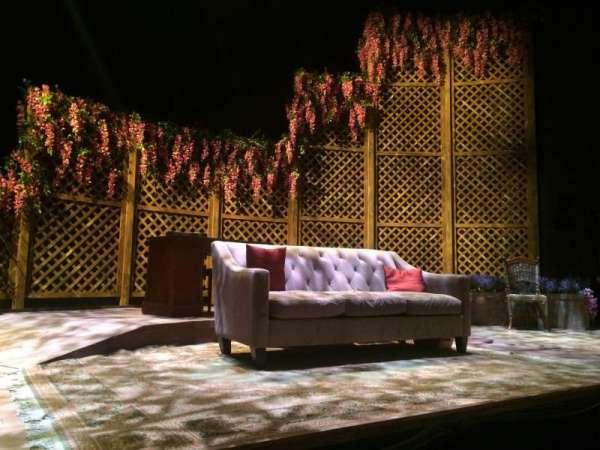 The Clurman Theater, sección: Orch, fila: B, asiento: 13