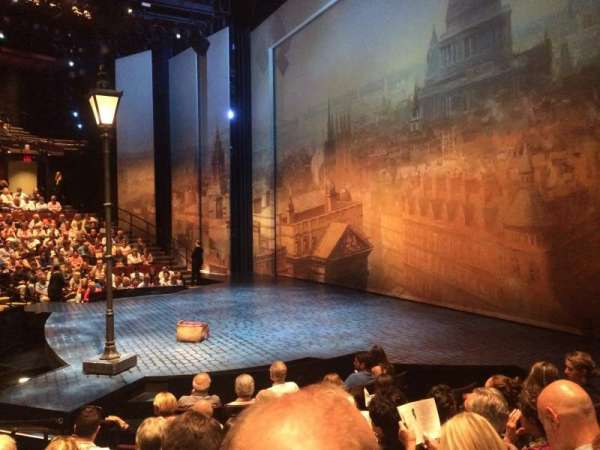 Vivian Beaumont Theater, sección: Orch, fila: J, asiento: 507
