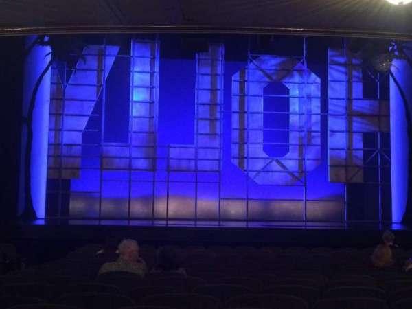 Nederlander Theatre, sección: Orch, fila: P, asiento: 111