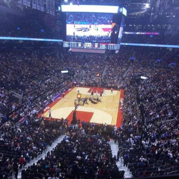 Scotiabank Arena, sección: 314, fila: 1, asiento: 15