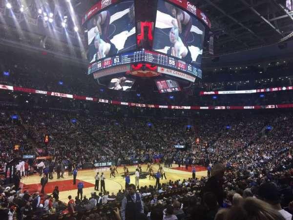 Scotiabank Arena, sección: 110, fila: 16