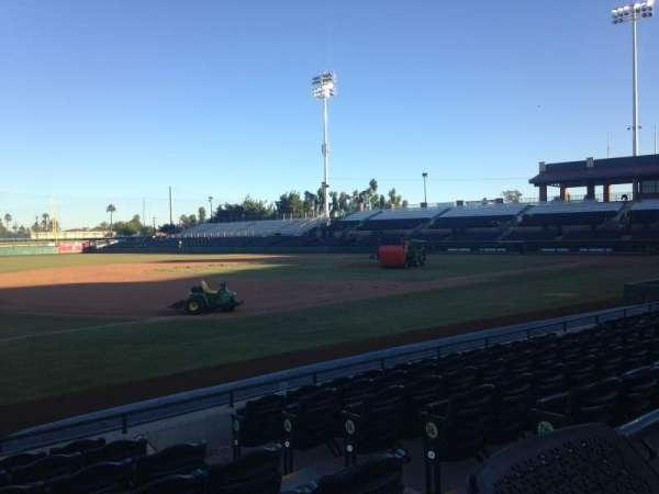 Scottsdale Stadium, sección: 121, fila: WC, asiento: 3