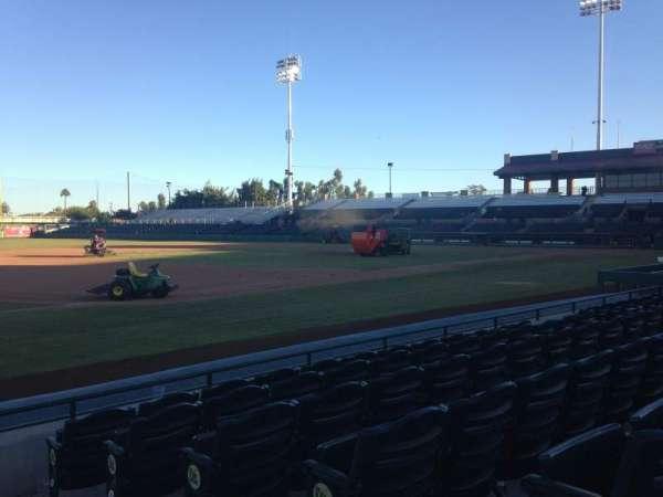 Scottsdale Stadium, sección: 121, fila: F, asiento: 1