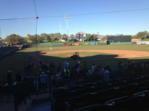 Scottsdale Stadium, sección: 208, fila: M, asiento: 1