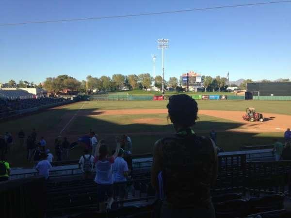 Scottsdale Stadium, sección: 306, fila: 1, asiento: 1