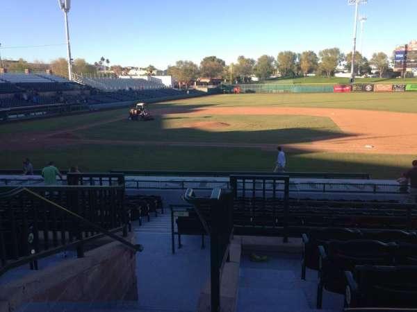 Scottsdale Stadium, sección: 212, fila: M, asiento: 1