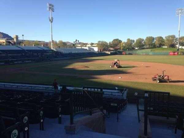 Scottsdale Stadium, sección: 314, fila: 1, asiento: 1