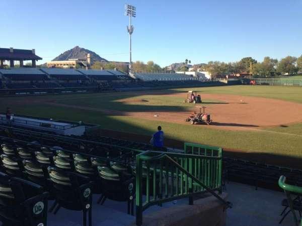 Scottsdale Stadium, sección: 216, fila: M, asiento: 1