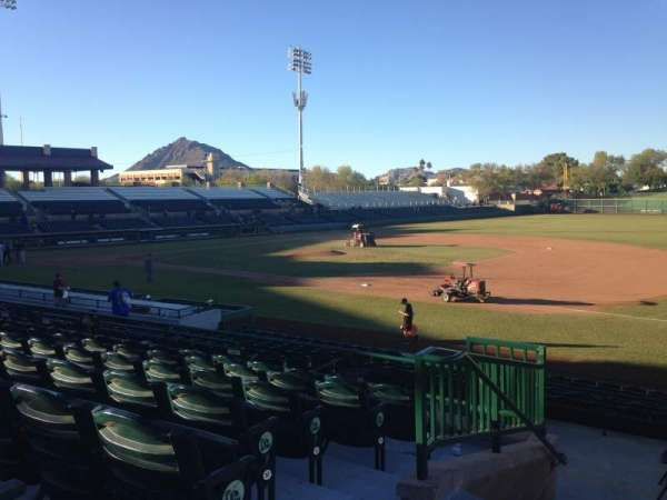 Scottsdale Stadium, sección: 316, fila: 1, asiento: 1