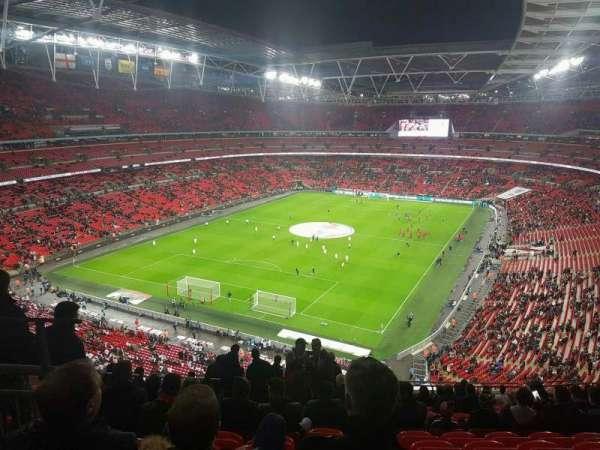 Wembley Stadium, sección: 510, fila: 17, asiento: 283