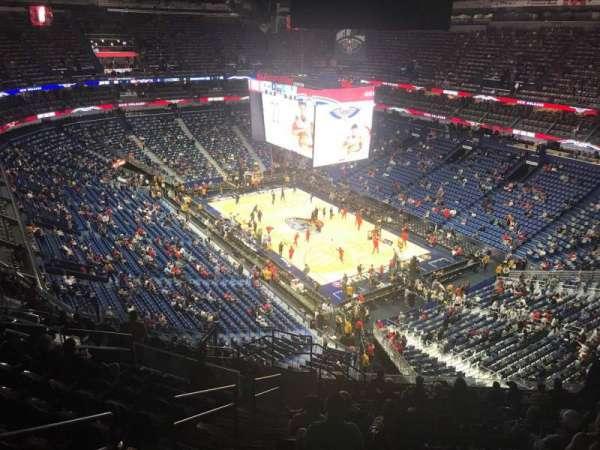 Smoothie King Center, sección: 311, fila: 14, asiento: 20