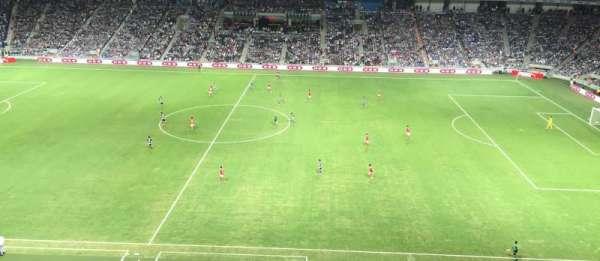 Estadio BBVA Bancomer, sección: 208, fila: A, asiento: 9