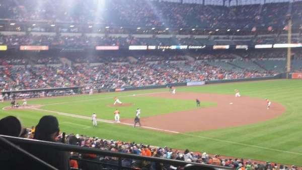 Oriole Park at Camden Yards, sección: 11, fila: 6, asiento: 23