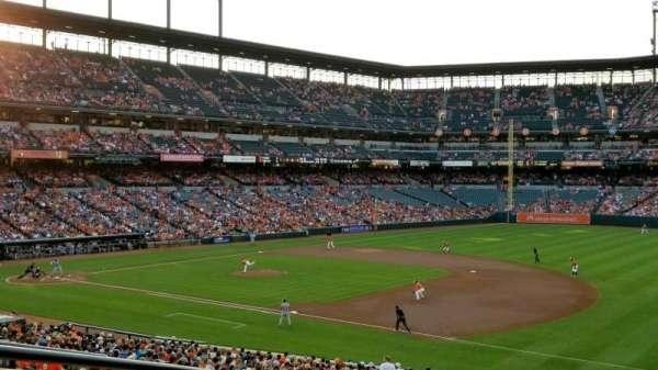 Oriole Park at Camden Yards, sección: 13, fila: 6, asiento: 23