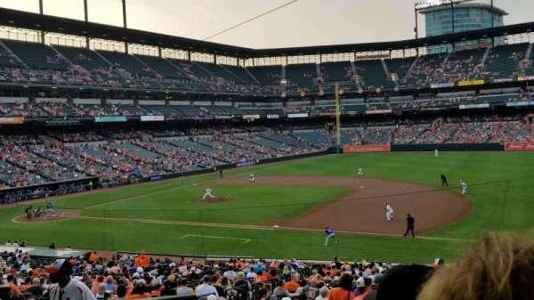 Oriole Park at Camden Yards, sección: 15, fila: 4, asiento: 14