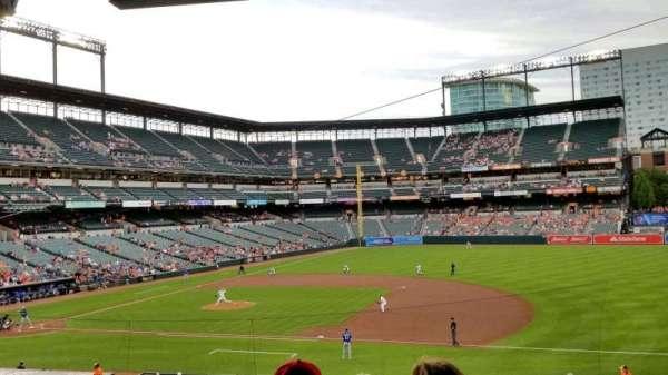 Oriole Park at Camden Yards, sección: 17, fila: 6, asiento: 2