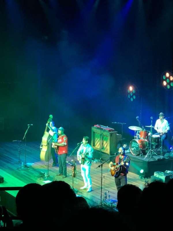 Ryman Auditorium, sección: 9, fila: G