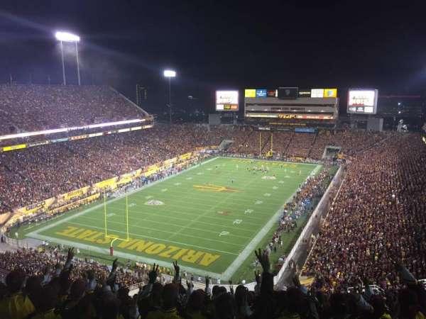 Sun Devil Stadium, sección: 219, fila: 33, asiento: 11