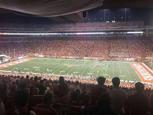 Texas Memorial Stadium, sección: 3, fila: 66, asiento: 4