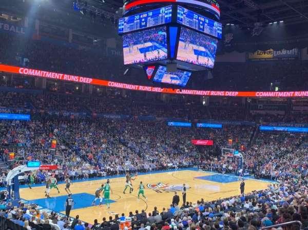 Chesapeake Energy Arena, sección: 118, fila: S, asiento: 13