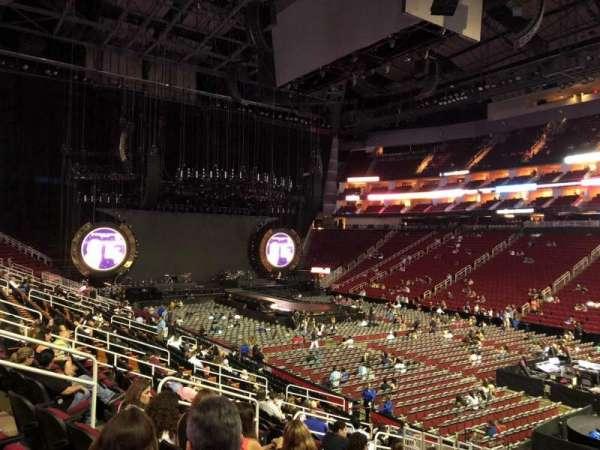 Toyota Center, sección: 116, fila: 19, asiento: 12