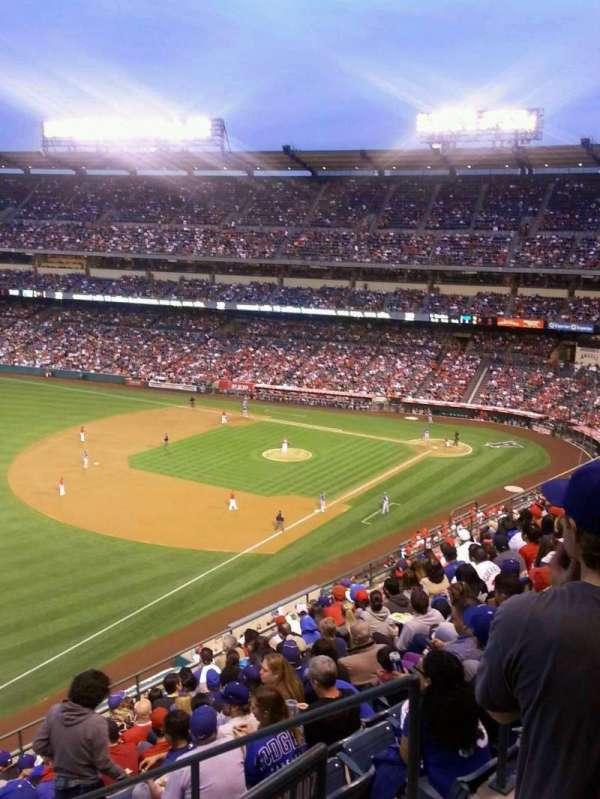 Angel Stadium, sección: V508, fila: A, asiento: 18