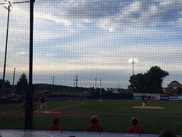 BB&T Ballpark at Historic Bowman Field, sección: D, fila: I, asiento: 4
