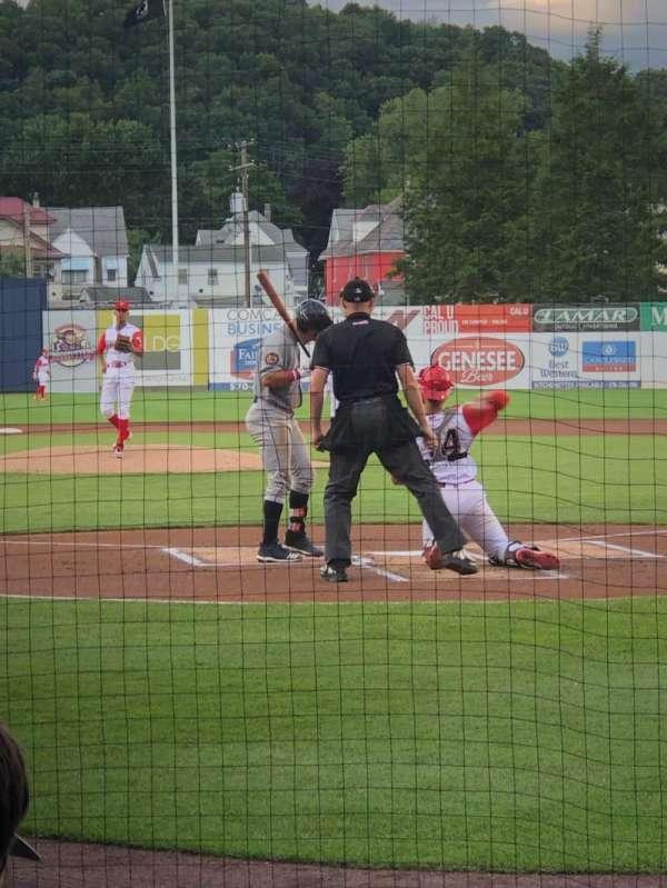 BB&T Ballpark at Historic Bowman Field, sección: I, fila: G, asiento: 1
