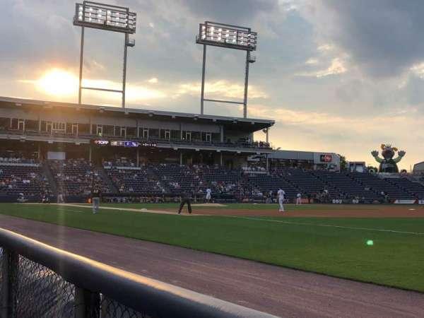 PNC Field, sección: 12, fila: 1, asiento: 4