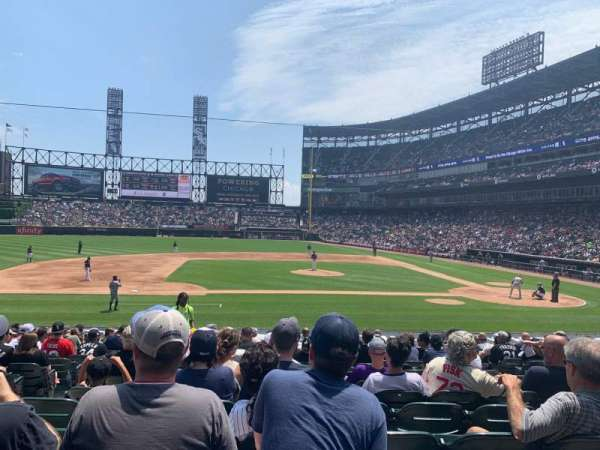 Guaranteed Rate Field, sección: 139, fila: 20, asiento: 7