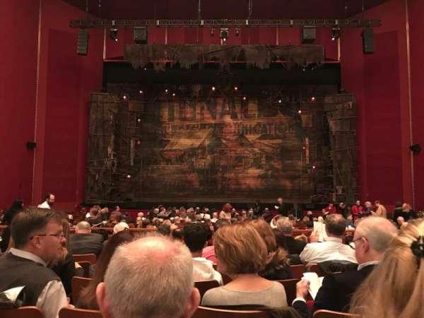 The Kennedy Center Opera House, sección: Orchestra, fila: X, asiento: 113