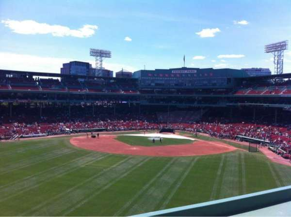 Fenway Park, sección: Green Monster 9