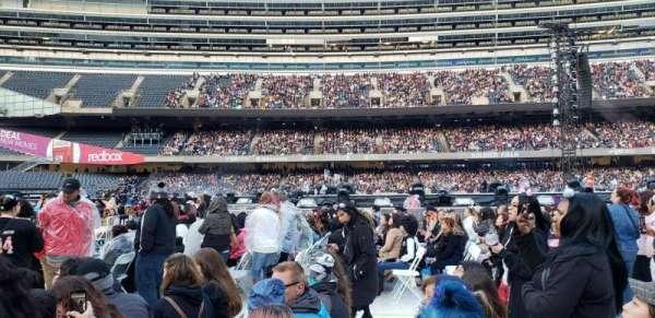 Soldier Field, sección: B5, fila: 6, asiento: 10