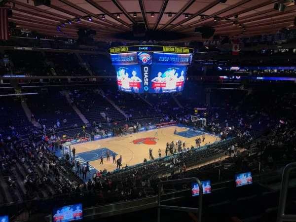 Madison Square Garden, sección: 221, fila: 5, asiento: 20