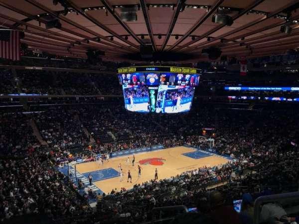 Madison Square Garden, sección: 221, fila: 5, asiento: 21