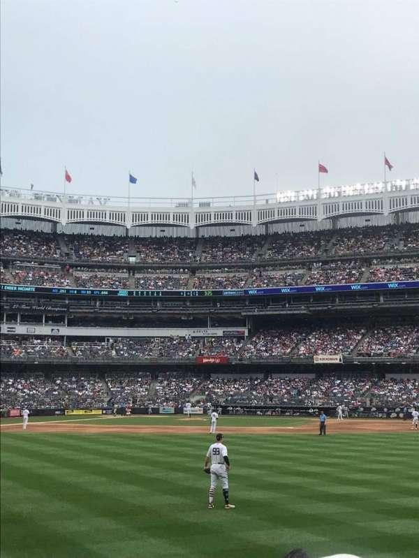Yankee Stadium, sección: 103, fila: 4, asiento: 17