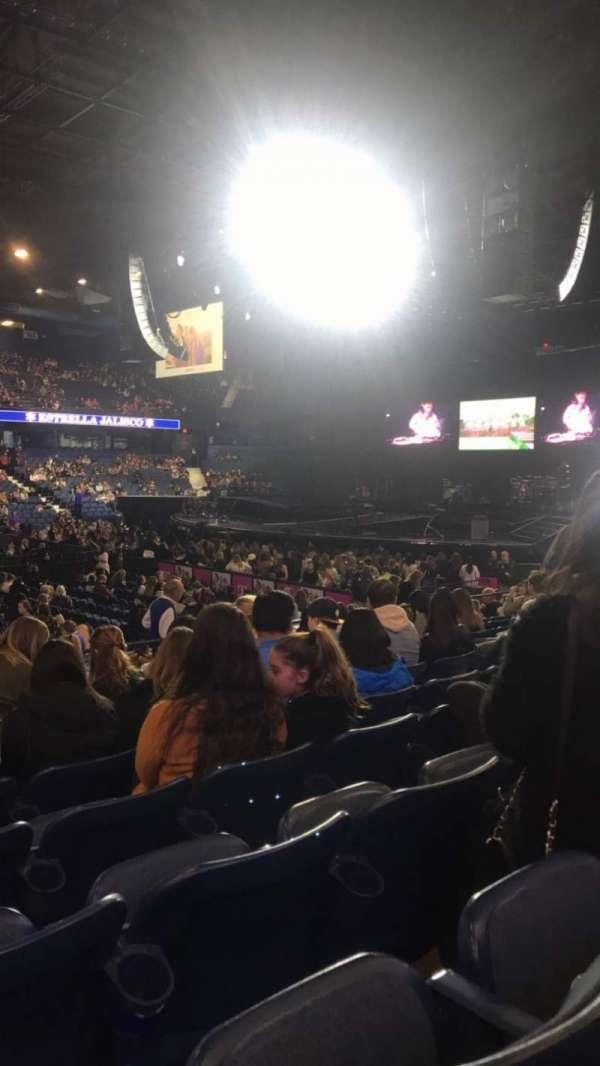 Allstate Arena, sección: 111, fila: K, asiento: 10