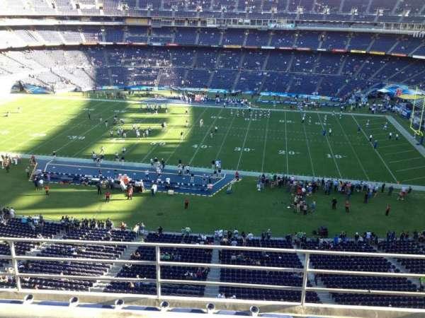 SDCCU Stadium, sección: V8, fila: 5, asiento: 18