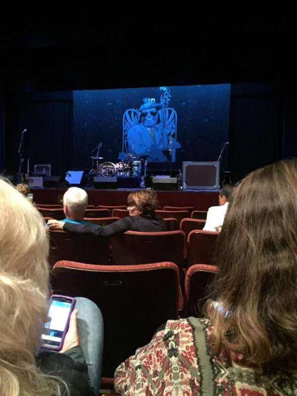 California Center For The Arts, Escondido - Concert Hall, sección: Orch, fila: G, asiento: 23