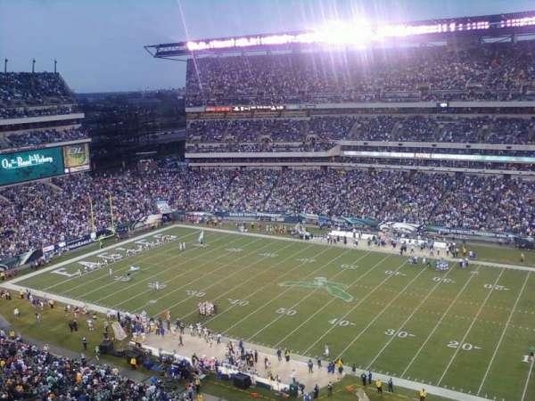 Lincoln Financial Field, sección: 228, fila: 9, asiento: 15