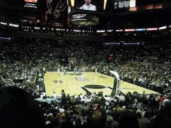 At&T Center, sección: 101, fila: 20, asiento: 18