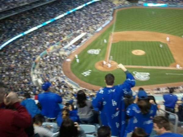 Dodger Stadium, sección: upper deck, fila: 10, asiento: 234